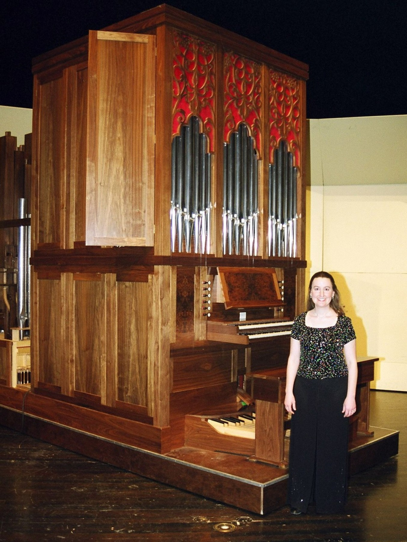 Dr. Lara Walter West will perform a recital on Tarleton's Waggener Memorial Pipe Organ, Jan. 21 in the Clyde H. Wells Fine Arts Center auditorium.