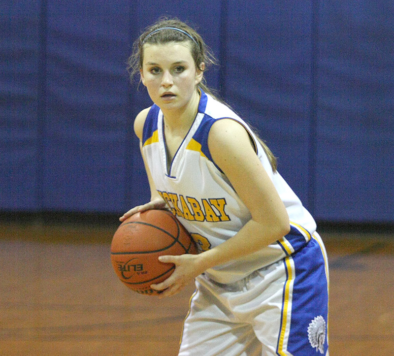 Presli Bray is a big reason the Lady Indians are 18-7 overall and 5-2 in District 18-A.    Photo by BRAD KEITH