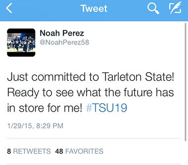 Perez tweet
