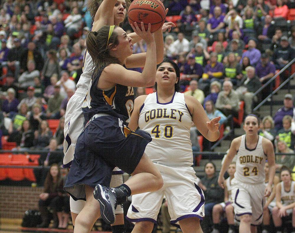 Cassidy Cline aggressive