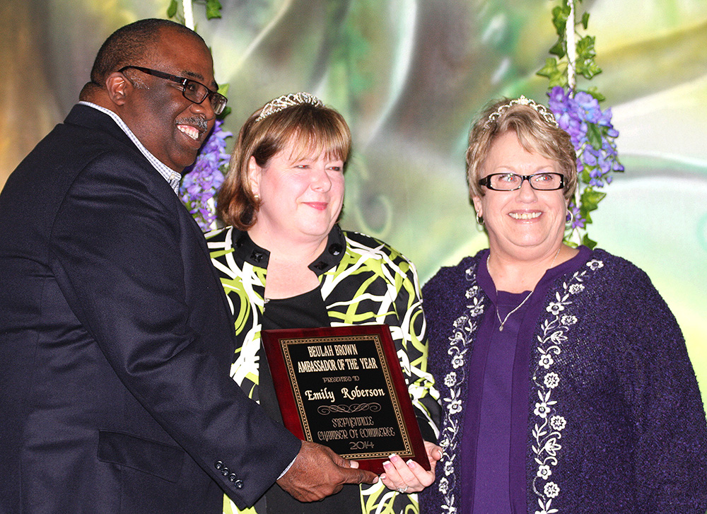 Emily Roberson, the Beulah Brown Ambassador of Year Award