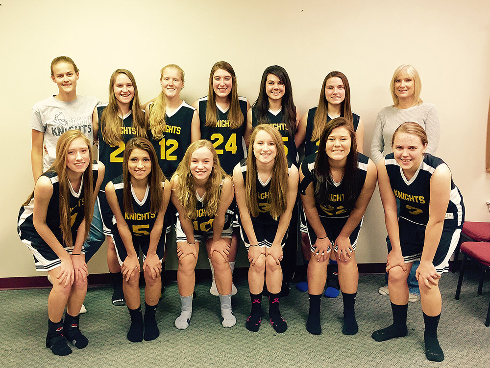 The FAITH Lady Knights are trying to reach their second straight state tournament. || Photo contributed