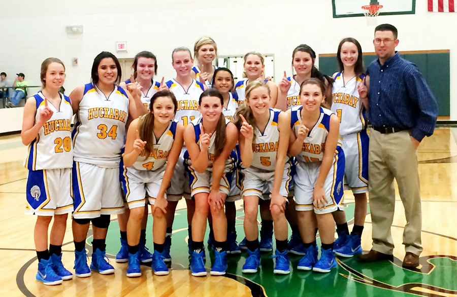 A year removed from winning just one game, the Huckabay Lady Indians are area champs. || Photo courtesy CINDY SHIPMAN