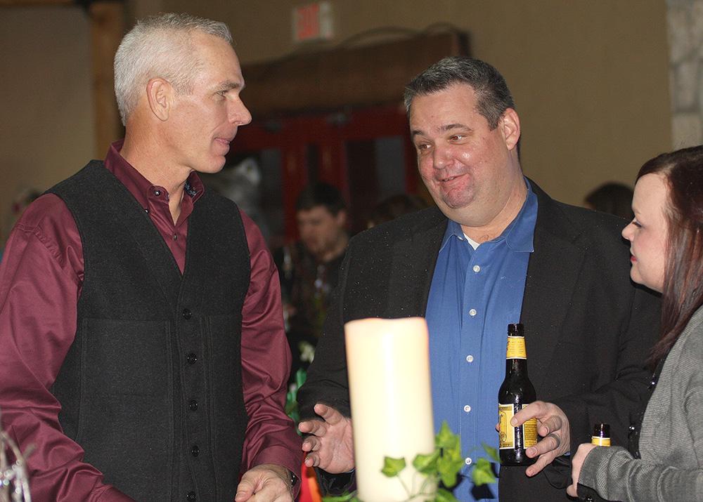 Mayor Kenny Weldon and Stephenville Police Chief Jason King