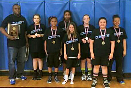 The Stephenville Comets (20-2) finished the youth basketball season as TAAF 12U state runners-up The Stephenville Comets (20-2) finished the youth basketball season as TAAF 12U state runners-up. || Courtesy photo