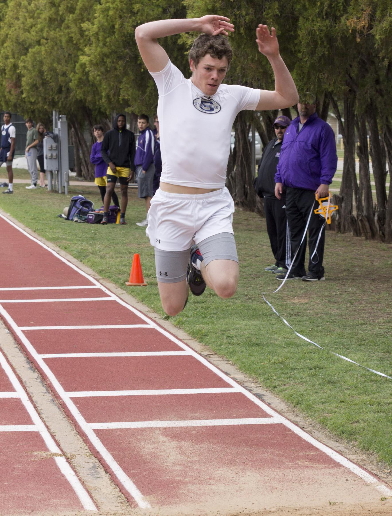 Josh Nowell jumping