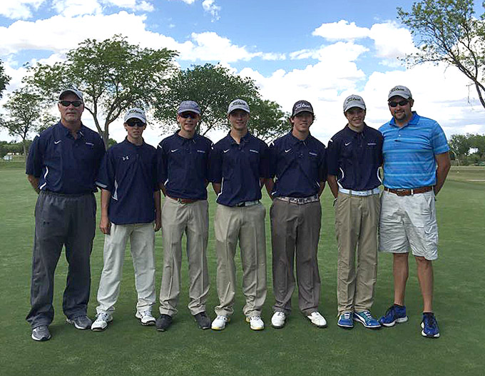 SHS golfers