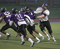 Depth along the offensive line is something Tarleton head coach Cary Fowler is hoping to see over the last half of spring football practices. || Photo by BRAD KEITH/TheFlashToday.com