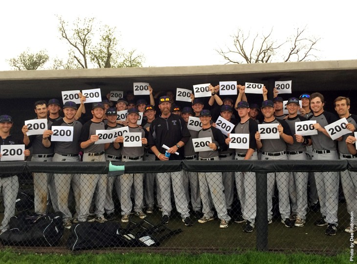 Bryan Conger celebrated his 200th victory as a head coach Saturday when Tarleton State tripped up host Cameron 3-1. || Courtesy DEE ROBINSON via Tarleton Athletic Communications