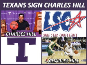 Charles Hill, Jr. is transferring from TCU to Tarleton State for his senior season. || Graphic courtesy TARLETON