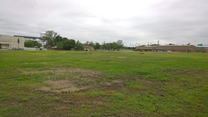 This plot of 3.075 acres of land immediately north of the Century Link building immediately west of Chamberlain Elementary School has been sold from Stephenville ISD to Tarleton State University and will become a resident parking lot. || BRAD KEITH/TheFlashToday.com