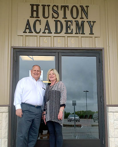 Debra Miller is retiring as superintendent of Erath Excels!, which includes Huston Academy on the outskirts of Stephenville. Taking over as superintendent is Mike Scott, a former principal at Stephenville and Santo. || BRAD KEITH/TheFlashToday.com