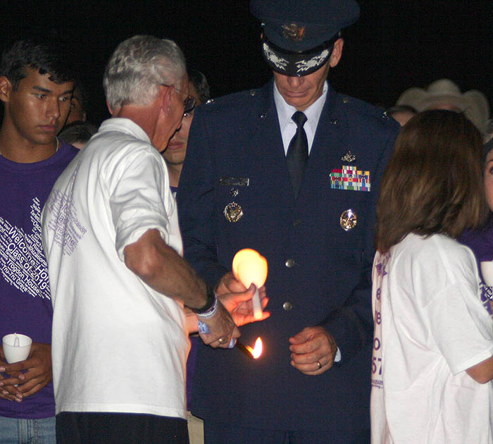 Convocation and candles 11