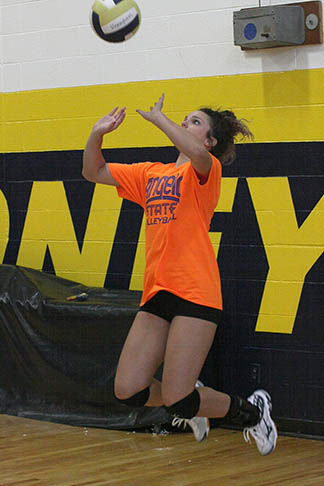 Honeybee volleyball practice 02