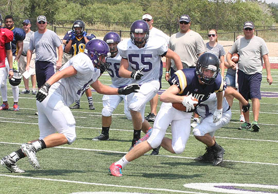 Sville-Liberty Hill scrimmage 02