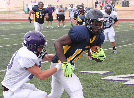 Sville-Liberty Hill scrimmage 08
