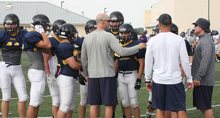 Sville-Liberty Hill scrimmage 17