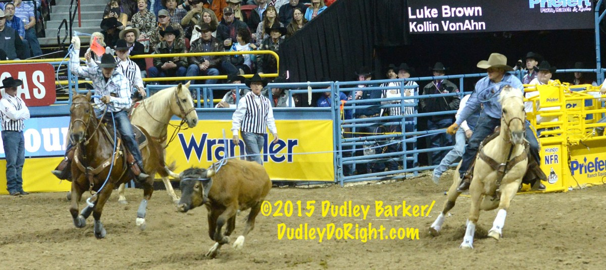 Luke Brown Jake Long Top Team Roping World Standings
