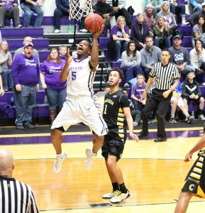 Charles Hill scored 19 points including eight in the final 2:25 to help Tarleton State beat Cameron, 71-61, Saturday at Wisdom Gym || Courtesy CHET MARTIN
