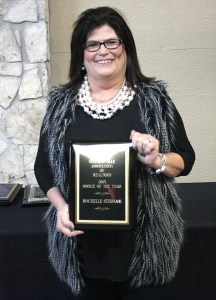 Rochelle Stidham of Infinity Realty was named rookie of the year by the Stephenville Association of Realtors. || TheFlashToday.com photo by BRAD KEITH