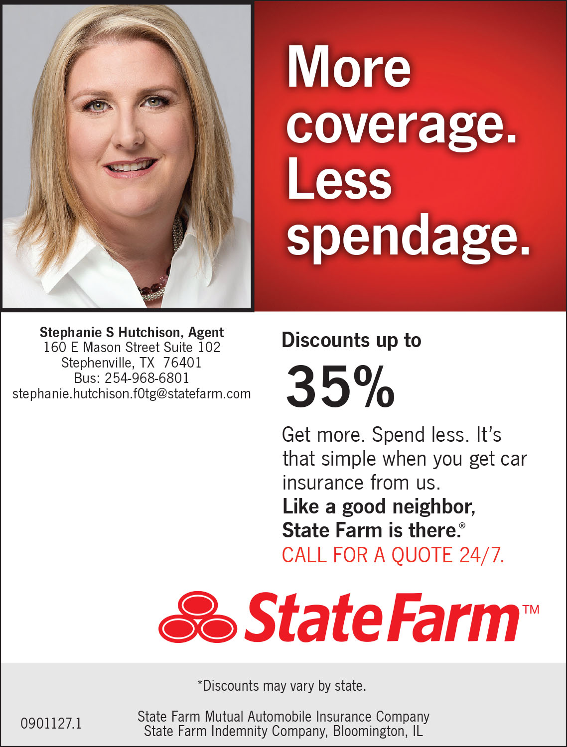 State Farm Static Ad