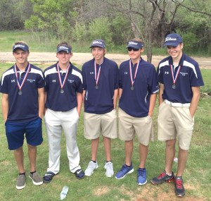 Stephenville I boys golf is headed to regionals. || Courtesy Coach PATTI WILLIAMS