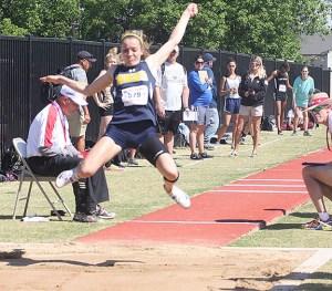 Hailey Martin long jump