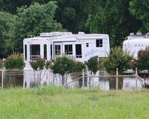 The Lost Creek RV Park just outside Stepehenville off US 281