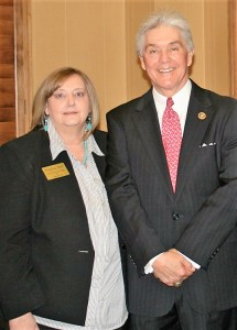 Stephenville resident Virginia Abel has been elected to the Electoral College, representing U.S. Congressional District 25, which is served by Republican Congressman Roger Williams, right.