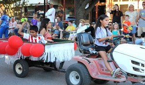 2016 Old Settler's Parade FEATURE