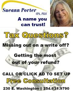 Sueann Porter Ad 0725