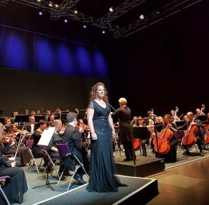 Tarleton State University's Dr. Heather Hawk, assistant professor of vocal performance, was awarded first place at this year's American Institute of Musical Studies (AIMS) Meistersinger Vocal Competition in Graz, Austria. (Photo by Antonia Zangger Kreuzer)