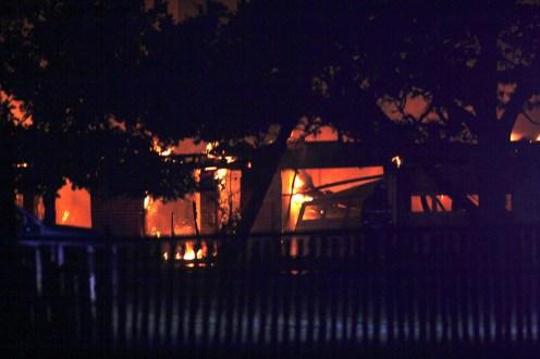Hico House Fire 2