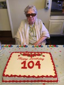 Lois Pack, Stephenville resident, turns 104 on Thursday. She celebrated Sunday surrounded by friends and family.