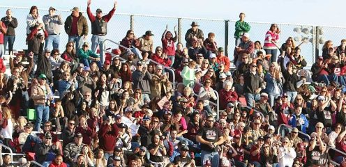 De Leon fans are enjoying football euphoria as their Bearcats return to the state quarterfinals for the first time in 26 years.    TheFlashToday.com photo by RUSSELL HUFFMAN