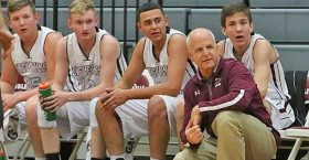 Doug Galyean resigned recenlty as head boys basketball coach at Lingleville. He has accepted the same position at 2A Santo. || Flash file photo by RUSSELL HUFFMAN