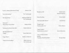 V-Day Musical Program 2