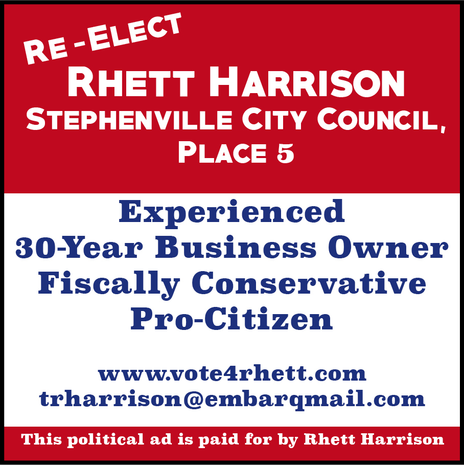 Harrison Political Ad