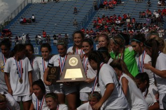 Stepenville Honeybees - 2017 UIL 4A girls soccer champions