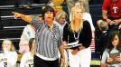 Stephenville volleyball head coach Fran Metzger and assistant Katie Fulton/Photo by The Flash Today