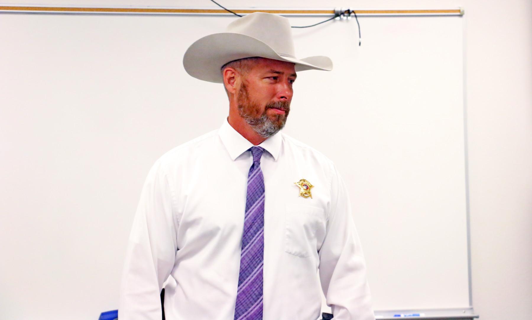 Erath County Sheriff Matt Coates