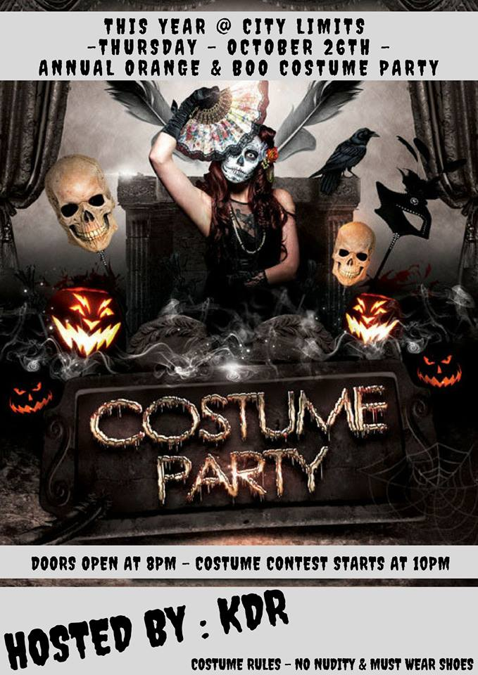 City Limits Costume Party 10-19-17