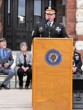 Veterans Day Ceremony 24 Lieutenant Colonel Marty Deckard, US Army , Keynote Speaker