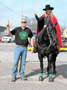 Dublin St. Paddy's Day Celebration 49 Texas Tech Masked Rider