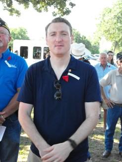 Memorial Day Service 28 Brand new U.S. Citizen, William Kent
