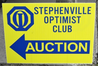 Optimist Club Auction 1