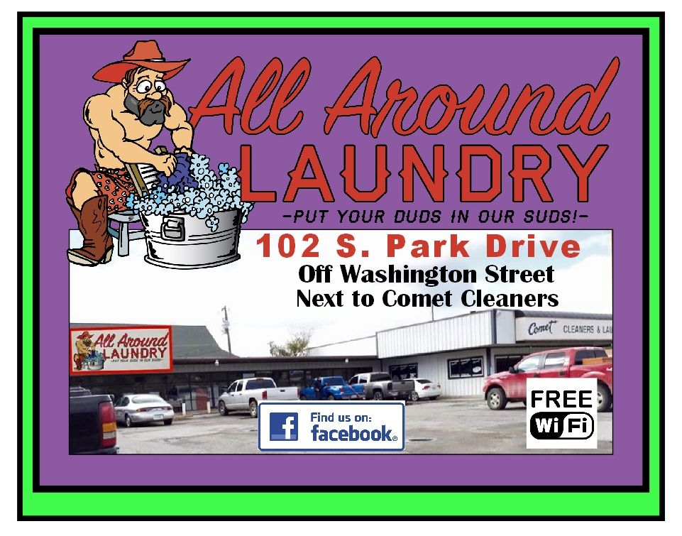 All Around Laundry Ad
