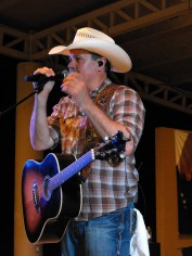 Roger Creager at Summer Nights Concert 24