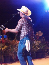 Roger Creager at Summer Nights Concert 6