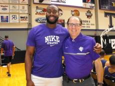 Texan Alumni Basketball game 13